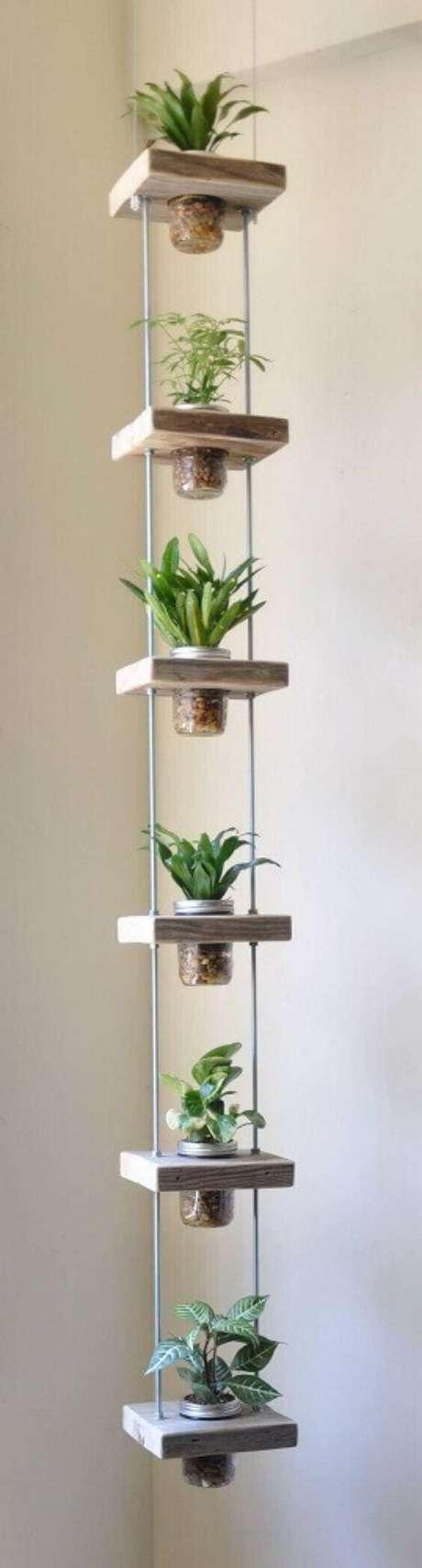 46. Você também pode usar podes de vidro em alguns modelos de jardim