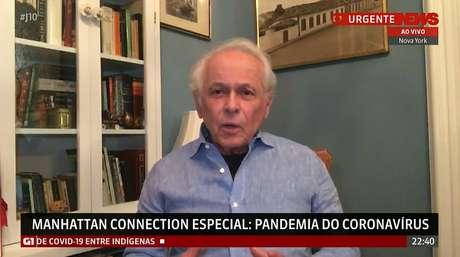 Lucas Mendes se tornou um dos maiores críticos de Bolsonaro no telejornalismo