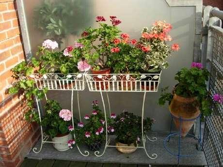 33. Existem muitos modelos de jardim pequenos para se inspirar
