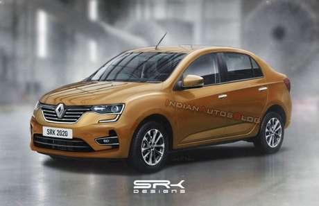 Renault LBA: assim seria o Kwid Sedan, previsto para 2021.