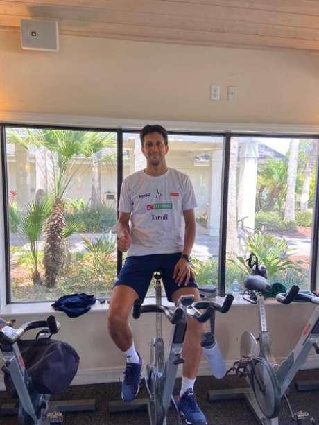 Marcelo Melo trabalha para manter a forma física na quarentena (Foto: Divulgação)