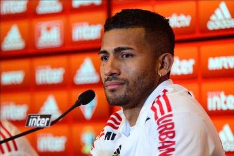 Joao Rojas foi contratado pelo São Paulo em 2018 e teve início promissor (Foto: Renato Gizzi/Photo Premium)