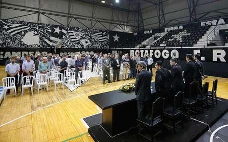 Conselho Deliberativo aprovou projeto em dezembro (Foto: Vítor Silva/Botafogo)