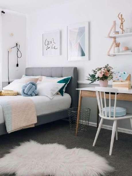 3. Busque inspirações de fotos de quartos bonitos para escolher um estilo – Foto: Manual da Obra