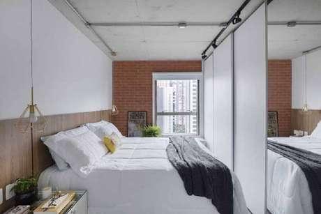 5. Prefira usar cores claras na decoração de quartos bonitos e pequenos – Foto: Webcomunica
