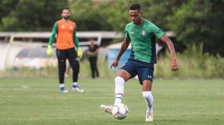 Daniel Lima integra ao elenco sub-23 do Fluminense (Foto: Fluminense FC)