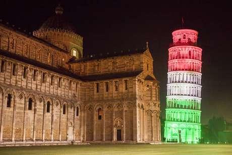 Torre de Pisa está fechada desde março por causa de pandemia
