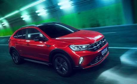 Design arrebatador de SUV cupê revela ousadia da Volkswagen, que estreia novo logotipo.