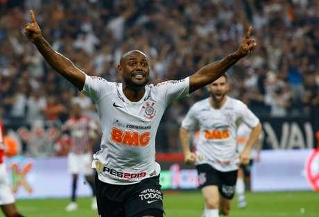 Vagner Love lembrou do gol do título do Paulistão-2019, quando bateu o São Paulo (Foto: Luis Moura / WPP)