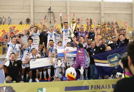 O Pato Futsal é o atual bicampeão da Liga Nacional (Foto: Reprodução/ Pato)