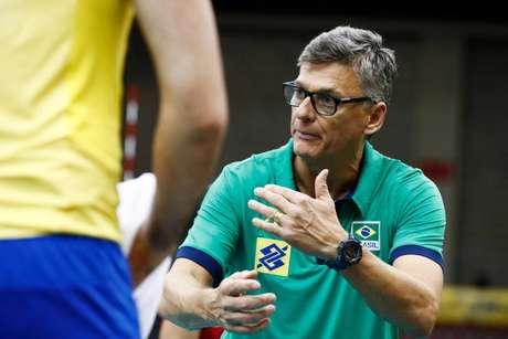 Renan Dal Zotto, técnico da Seleção Brasileira masculina de Vôlei. (Foto: Divulgação/FIVB)