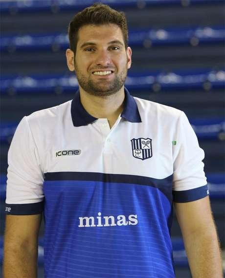 Guilherme Novaes, novo técnico do Vedacit Vôlei Guarulhos. Foto: Divulgação