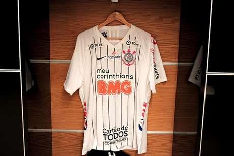 Corinthians perde seu primeiro patrocinador de camisa durante a crise (Foto: Divulgação/Twitter Corinthians)