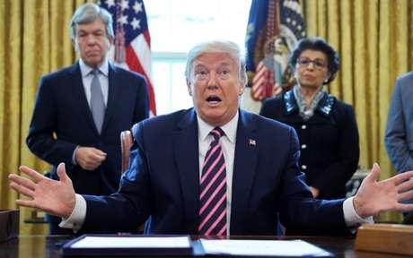 Presidente dos EUA, Donald Trump. 24/4/2020. REUTERS/Jonathan Ernst