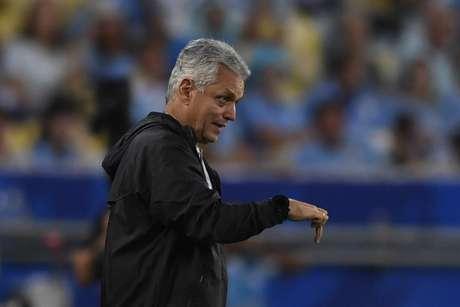 Reinaldo Rueda pelo Chile na disputa da Copa América 2019 no Brasil (Foto: Mauro PIMENTEL / AFP)