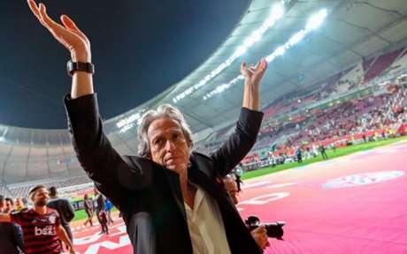 Jorge Jesus renovou com o Flamengo por mais um ano