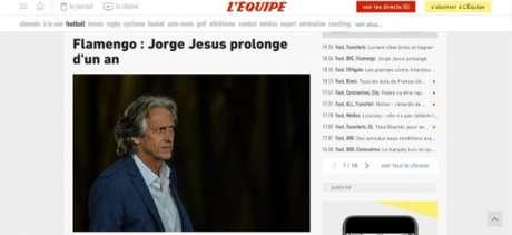 """Jesus também foi destaque no """"L"""