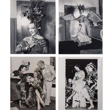 Diversas imagens mostram os bastidores de Carmen no camarim do London Palladium