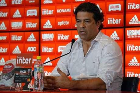 Raí, diretor de futebol do São Paulo