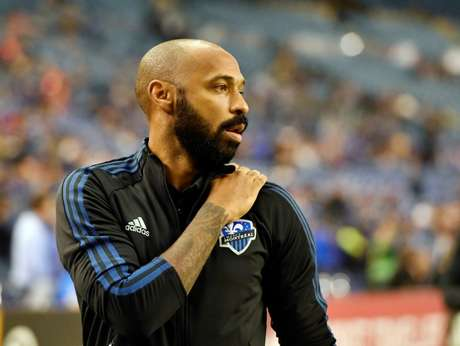 Técnico do Montreal Impact, Thierry Henry 29/02/2020 Eric Bolte-USA TODAY Sports