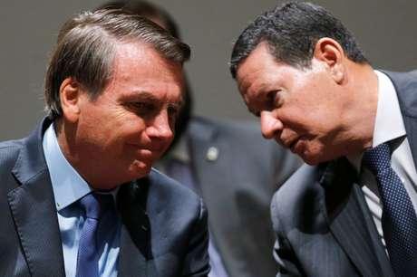 Bolsonaro e Mourao participam de evento em Brasília 28/11/2019 REUTERS/Adriano Machado