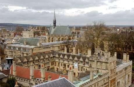 Vista da Universidade de Oxford, no Reino Unido