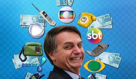 Bolsonaro oferece oportunidade de ouro para as emissoras de TV aumentarem o faturamento