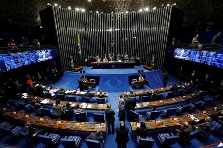 Plenário do Senado 25/08/2016 REUTERS/Ueslei Marcelino