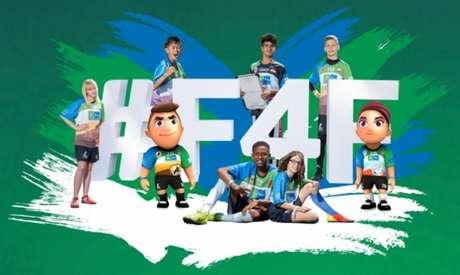 Futebol pela Amizade terá edição online neste ano (Reprodução)