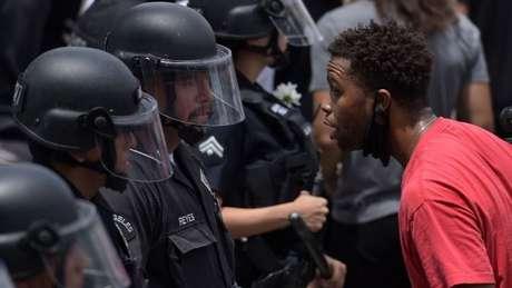 O assassinato de George Floyd despertou grandes protestos nos EUA