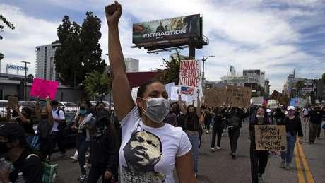 A atual onda de manifestações foi comparada à luta pelos direitos civis na década de 1960