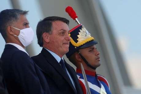 Presidente Jair Bolsonaro no Palácio do Planalto 05/06/2020 REUTERS/Adriano Machado