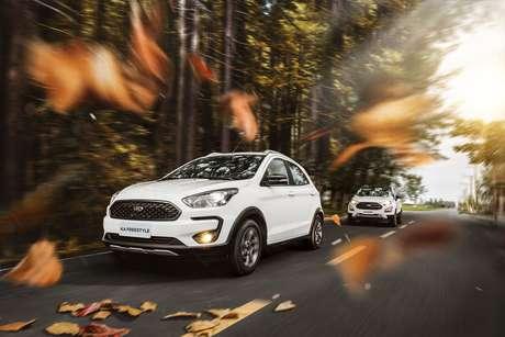 Ford Ka: entrada a partir de R$ 22.995 e prestações a partir de R$ 399 até o fim de 2021.