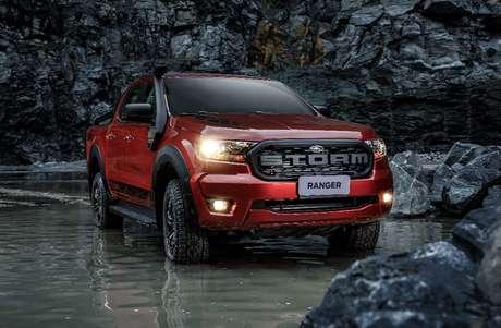 Ford Ranger Storm: a nova versão da picape também está na promoção.