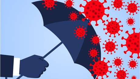 Imunidade é o conjunto de mecanismos que nos protegem de infecções.