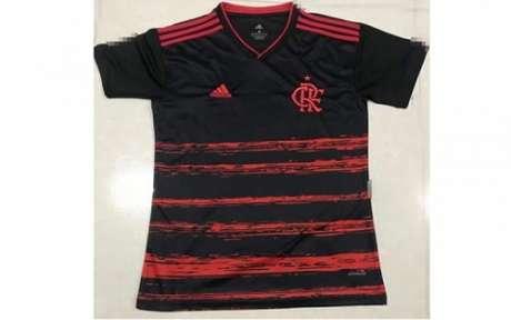 Nova camisa do Flamengo (Foto: Reprodução / Coluna do Fla)