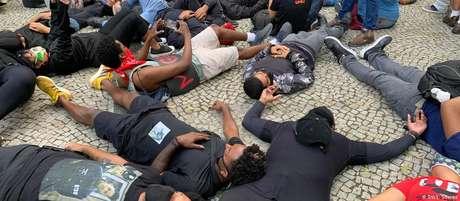 Protestos antirracismo foram realizados no Rio e em várias cidades brasileiras neste domingo