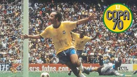 Tostão iniciou a jogada do terceiro gol brasileiro - Divulgação