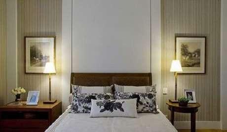 15. Utilize diferentes modelos de criado mudo no seu dormitório. Fonte: Pinterest