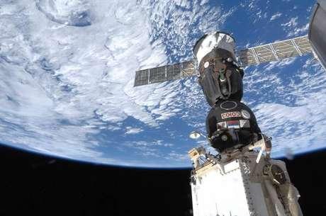 Imagem da Estação Espacial Internacional (ISS)