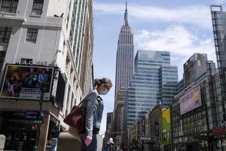 Nova York continua sendo o estado norte-americano com o maior número de casos e mortes em números absolutos