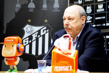 Peres comenta sobre proposta para retorno do futebol (Foto: Divulgação/Santos)