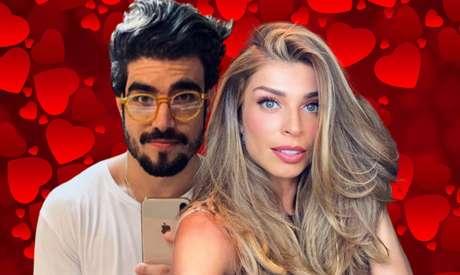 Caio Castro e Grazi Massafera assumiram namoro em 14 de fevereiro, no Valentine´s Day, Dia dos Namorados em vários Países do hemisfério norte