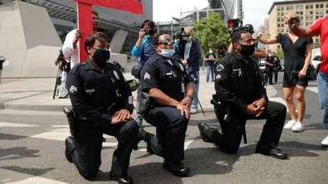 A Polícia de várias cidades prometeu fazer mudanças para evitar o uso de força excessiva