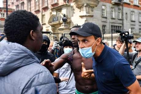 Protesto 'Black Lives Matter' em Londres