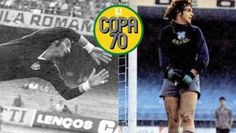 'Félix (à esquerda) não foi para a Seleção à toa', detalhou Ado, goleiro reserva em 1970 (Reprodução/Divulgação CBF)