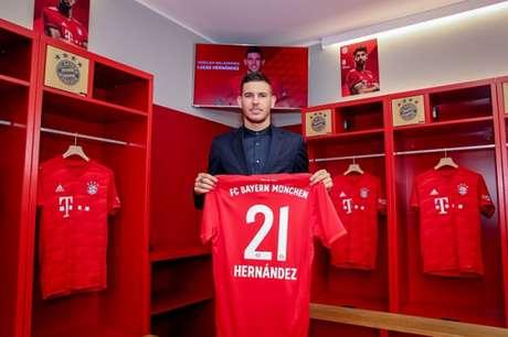 Lucas Hernández está no Bayern de Munique (Foto: Divulgação)