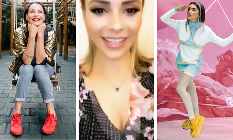 Mais lidas: Carolina, Sandy e Manu (fotos: Reprodução/Instagram)]
