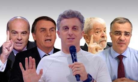 Luciano Huck entre Marcelo de Carvalho, Bolsonaro, Lula e Kennedy Alencar: críticas de todos os lados contra o potencial presidenciável