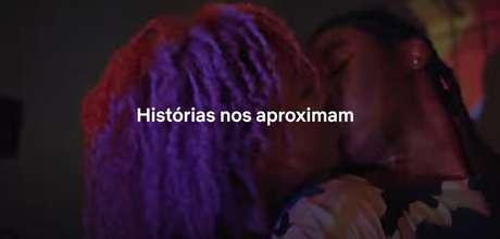 Filme da Netflix no intervalo do Fantástico destacou frases de encorajamento a pessoas LGBQT+